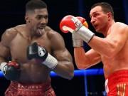 """Klitschko thách  """" Kẻ hủy diệt """"  tranh 3 đai vô địch thế giới"""