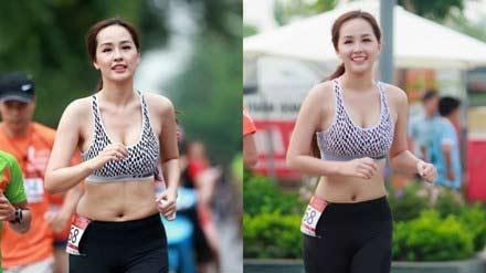 Người mẫu, hoa hậu Việt gây bất ngờ với vòng eo ngấn mỡ - 1