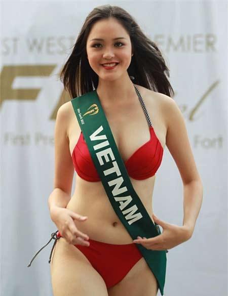 Người mẫu, hoa hậu Việt gây bất ngờ với vòng eo ngấn mỡ - 5
