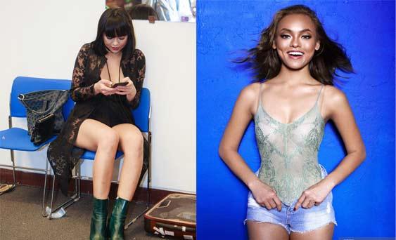 Người mẫu, hoa hậu Việt gây bất ngờ với vòng eo ngấn mỡ - 10