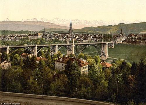 Cảnh đẹp và cuộc sống trên dãy Alps cách đây 100 năm - 2