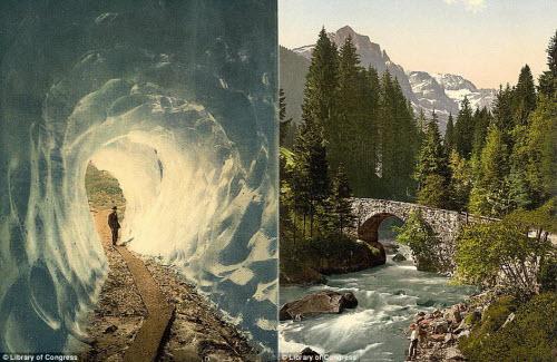 Cảnh đẹp và cuộc sống trên dãy Alps cách đây 100 năm - 5