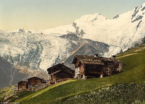 Cảnh đẹp và cuộc sống trên dãy Alps cách đây 100 năm - 6