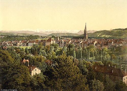 Cảnh đẹp và cuộc sống trên dãy Alps cách đây 100 năm - 8