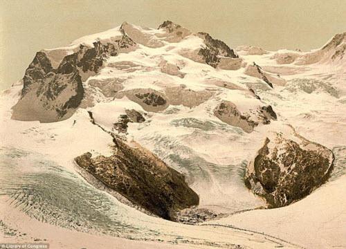 Cảnh đẹp và cuộc sống trên dãy Alps cách đây 100 năm - 9