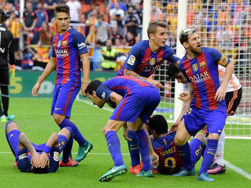 """Liga trước vòng 10: Barca sẽ """"dám"""" ăn mừng - 1"""