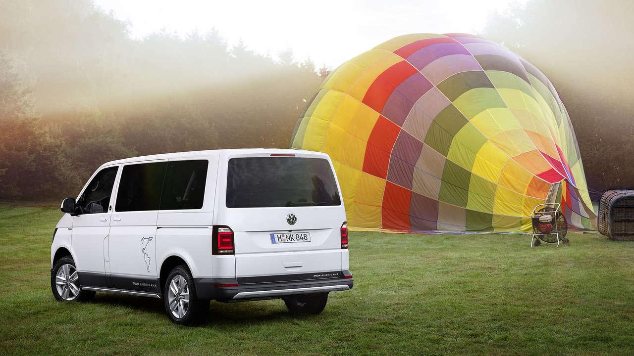 VW Multivan PanAmericana - Xe van mang trải nghiệm off-road - 1