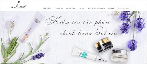 Sakura Beauty Nhật Bản ra mắt website chính thức tại Việt Nam - 2