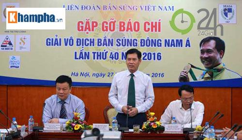 """Hoàng Xuân Vinh không đua tài ở trường bắn """"khó nói"""" nhất ĐNA - 1"""