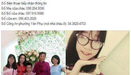 Bé gái 13 tuổi ở Hà Nội mất tích bí ẩn - 1