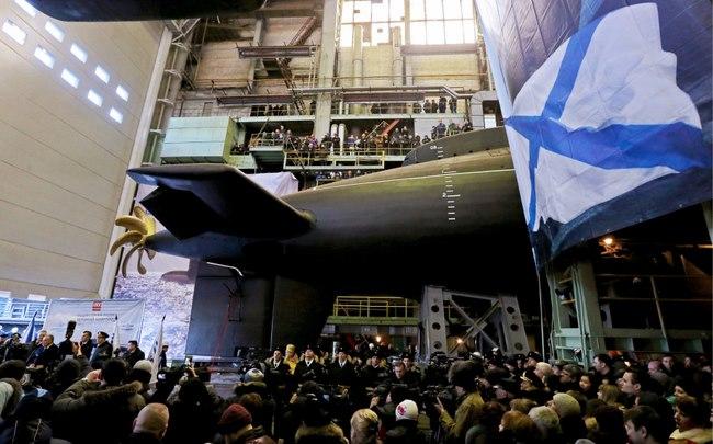 Nga chính thức công bố siêu tàu ngầm hạt nhân mới - 1