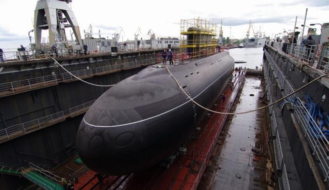 Nga chính thức công bố siêu tàu ngầm hạt nhân mới - 3