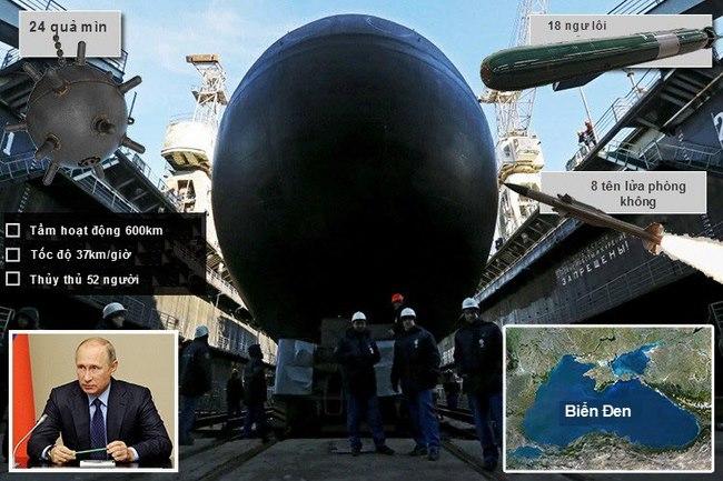 Nga chính thức công bố siêu tàu ngầm hạt nhân mới - 2