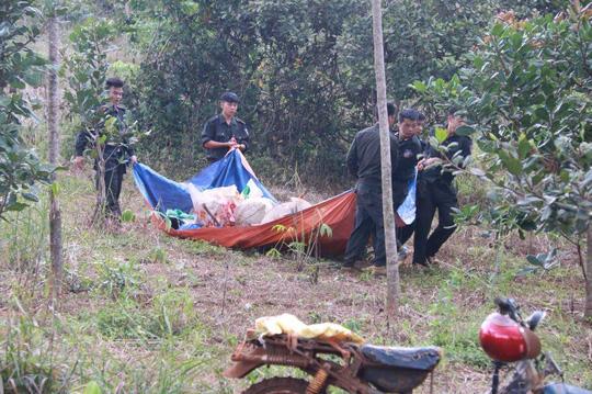 Nghi can trốn nã vụ nổ súng ở Đắk Nông giúp CA đẩy xe - 1