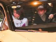 Tư vấn - Cường Đô la tháp tùng Hạ Vi bằng siêu xe Lamborghini Huracan