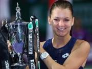 Thể thao - WTA Finals ngày 6: Radwanska thoát hiểm vào bán kết