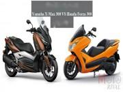 Thế giới xe - So găng Yamaha X-Max 300 và Honda Forza 300