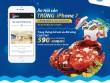 Ăn hải sản, trúng iPhone 7
