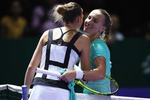 """Bán kết WTA Finals: """"Ngựa ô"""" và kẻ thống trị - 1"""