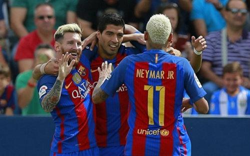 Barcelona – Granada: Không thể cản Messi - 1