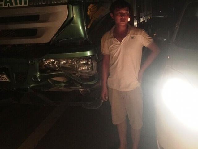 CSGT mượn xe của dân truy đuổi xe gây tai nạn bỏ trốn