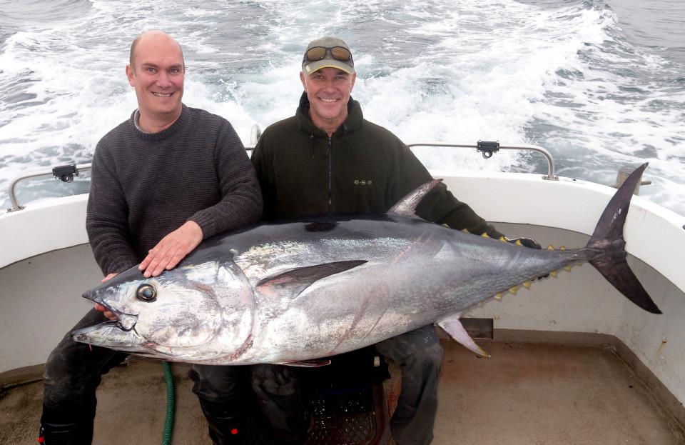Anh: Bắt được cá ngừ vây xanh khổng lồ 270 triệu đồng - 1