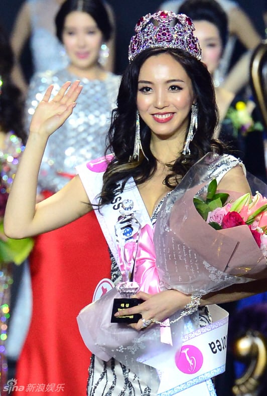 """Top 5 hoa hậu Hàn có """"trái cấm"""" đốt mắt nhất Hàn Quốc - 1"""