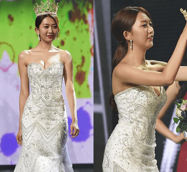 """Top 5 hoa hậu Hàn có """"trái cấm"""" đốt mắt nhất Hàn Quốc - 14"""
