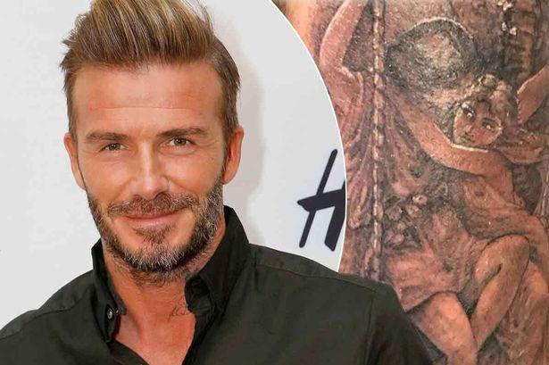 Ngắm hình xăm mới siêu đẹp và chất của David Beckham - 1