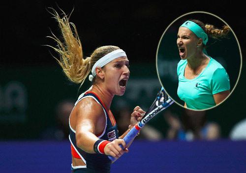 Kuznetsova - Cibulkova: 3 set hấp dẫn (BK WTA Finals) - 1