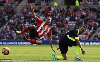 Chi tiết Sunderland - Arsenal: Chủ nhà vỡ trận (KT) - 4
