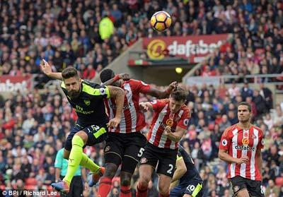 Chi tiết Sunderland - Arsenal: Chủ nhà vỡ trận (KT) - 12