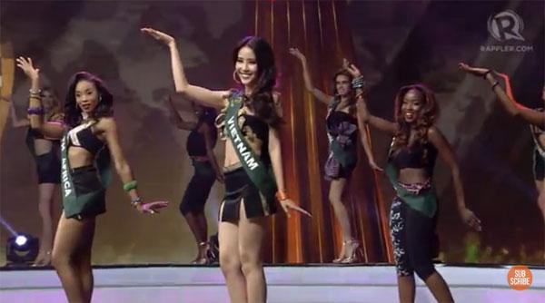 Nam Em lập kỳ tích lọt top 8 Hoa hậu Trái Đất 2016 - 4