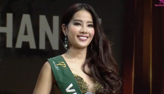 Nam Em lập kỳ tích lọt top 8 Hoa hậu Trái Đất 2016 - 2