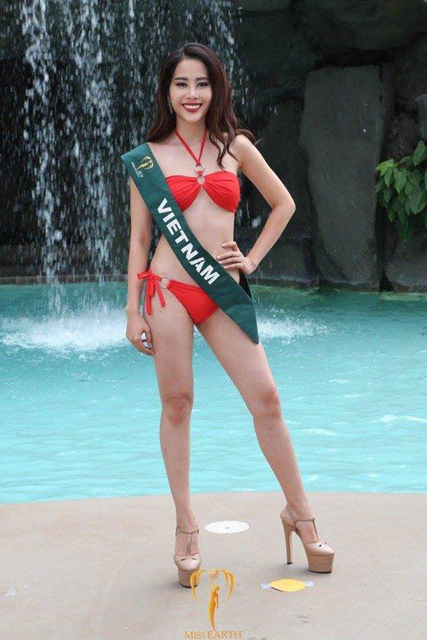 Nam Em lập kỳ tích lọt top 8 Hoa hậu Trái Đất 2016 - 12