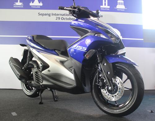 Yamaha NVX 2017 ra mắt ở Malaysia giá 46,5 triệu đồng - 1