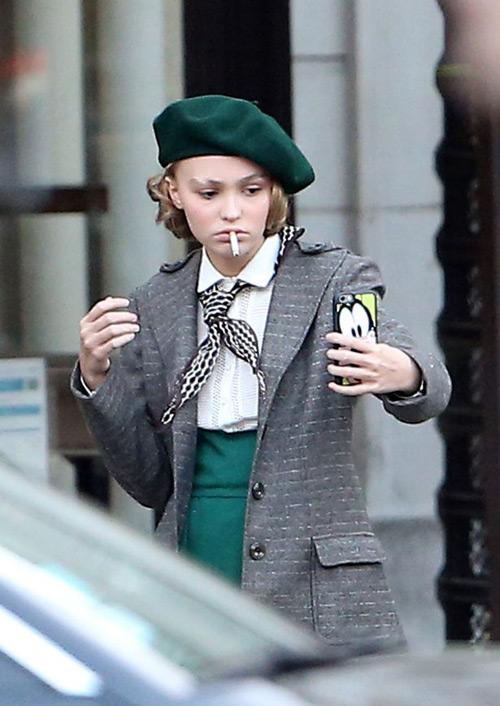 """Không ngờ """"cướp biển"""" Depp có con gái 17 tuổi quá đẹp - 4"""