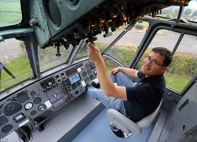 Anh: Mua trực thăng chiến đấu làm nhà ở cho 6 người - 9
