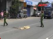 Tai nạn giao thông - Container tông chết nữ sinh ngay trước trụ sở CA phường