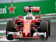 Thể thao - F1, đua thử Mexican GP: Bất ngờ mang tên Ferrari