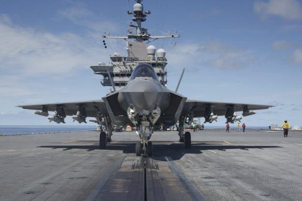 Tiêm kích F-35 sẽ có lợi thế đáng gờm tại Biển Đông - 1