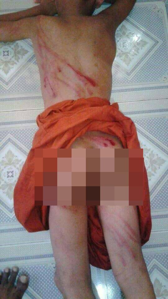Thái Lan: Sư tiểu bị đánh đập bằng gậy trong chùa - 1
