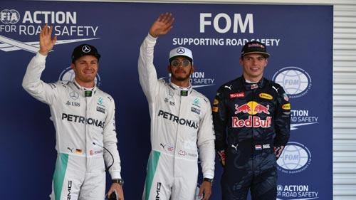 F1, phân hạng Mexican GP: Tuyệt vời Hamilton, thất vọng Ferrari - 1