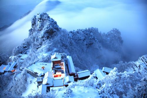 Cảnh sắc tựa chốn bồng lai tiên cảnh trên núi Võ Đang - 5