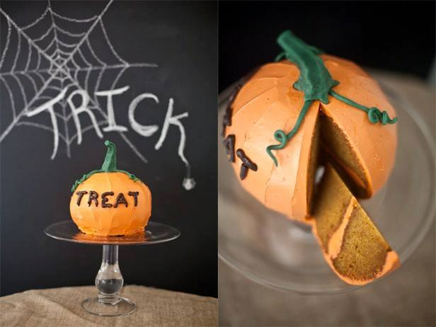 """Bánh bí ngô """"thần thánh"""" đón Halloween - 1"""
