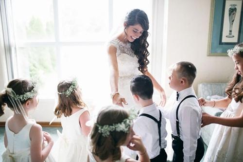 Đám cưới đặc biệt của cô giáo dạy trẻ Down gây xúc động - 3