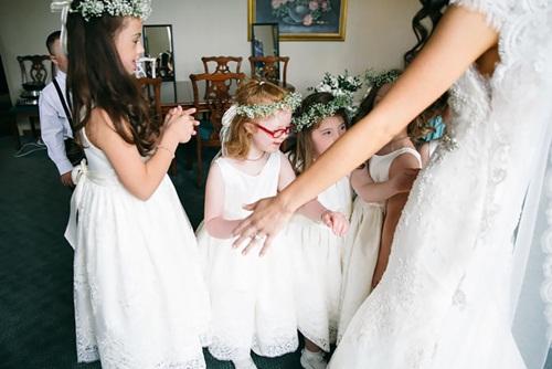Đám cưới đặc biệt của cô giáo dạy trẻ Down gây xúc động - 7