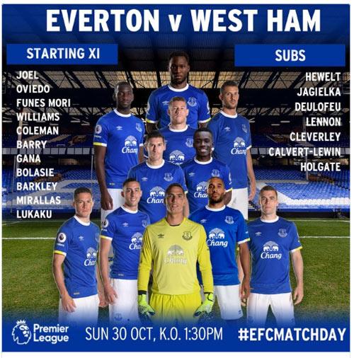 Chi tiết Everton - West Ham: Hiệp 2 tưng bừng (KT) - 10