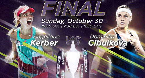Kerber – Cibulkova: Lần đầu tiên ngọt ngào (CK WTA Finals) - 1
