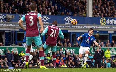 Chi tiết Everton - West Ham: Hiệp 2 tưng bừng (KT) - 3